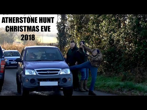 Violence from Atherstone Hunt - Chrstmas Eve meet