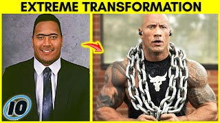Top 10 Most Extreme Celebrity Transformations