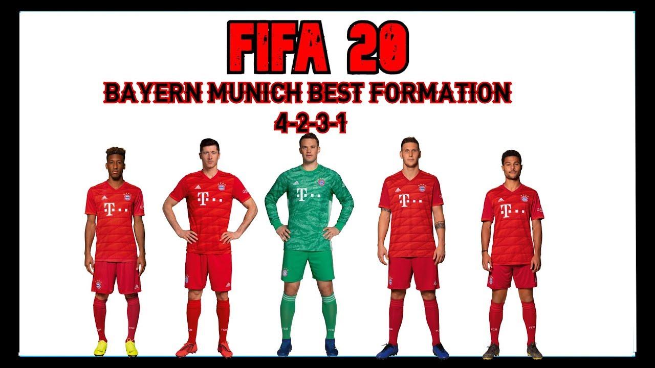 BAYERN MUNICH - BEST FORMATION, CUSTOM TACTICS & PLAYER ...