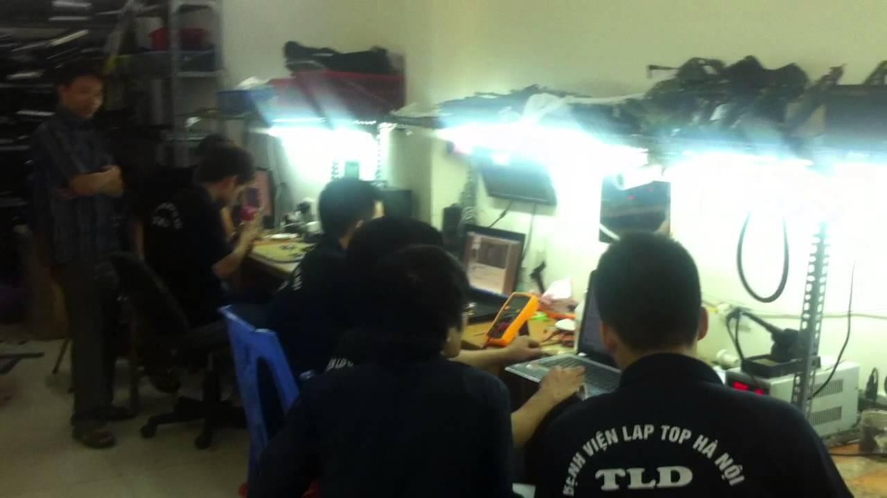Buổi thực hành Sửa Laptop Tại Bệnh Viện Laptop Hà Nội