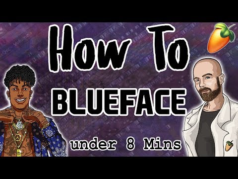 From Scratch: A Blueface Song in Under 8 Minutes | FL Studio Trap Tutorial 2019