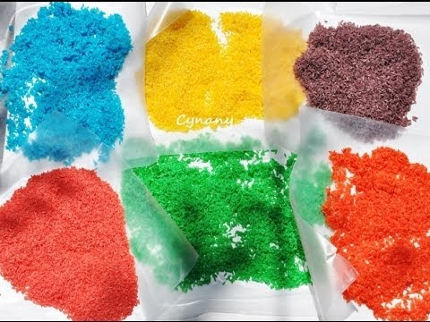 Colored Rice Crafts