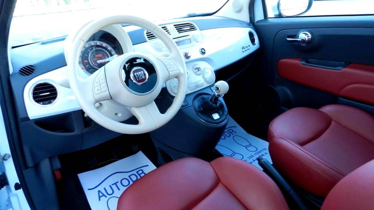 Fiat 500 1 2 Lounge Solo 25000km Pelle Frau Rossa Autodr It Marco 329 1550112 Monte San Giusto Mc