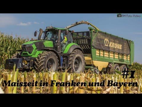 Maiszeit in Bayern und Franken 2016 #01 ► Bergmeister, Baier & MZ-Agrarservice