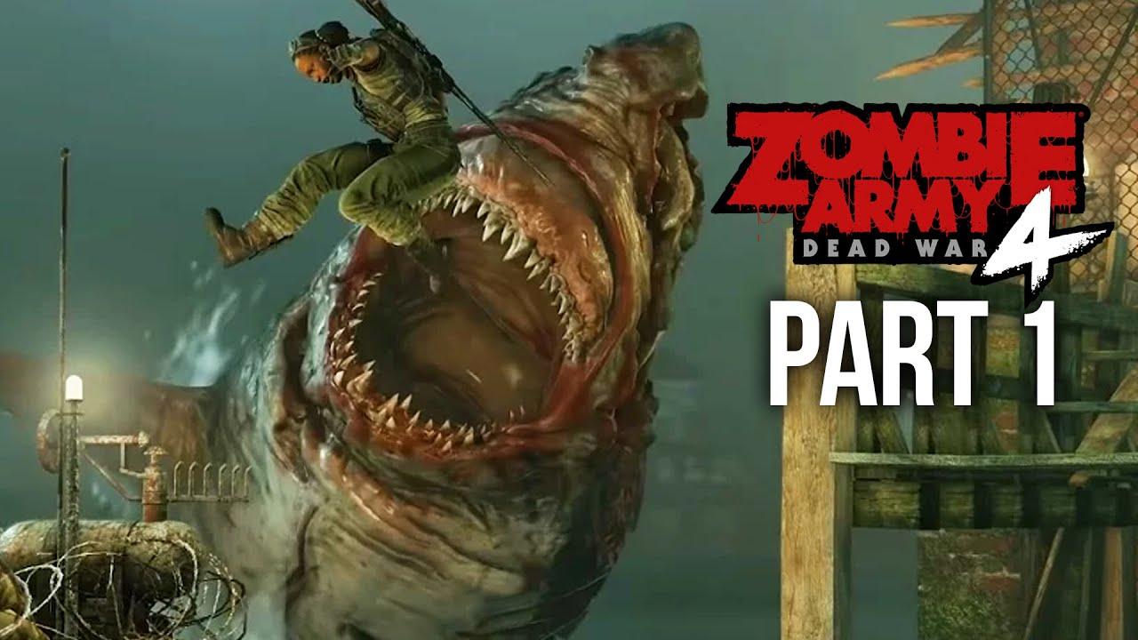 ZOMBIE ARMY 4 DEAD WAR Gameplay soluce, partie 1 - MISSION 1 (jeu complet) + vidéo