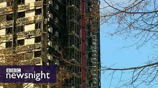 Grenfell Tower fire: how many survivors are still without permanent homes? – BBC Newsnight