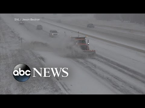 Major Storm Causing Treacherous Travel Conditions