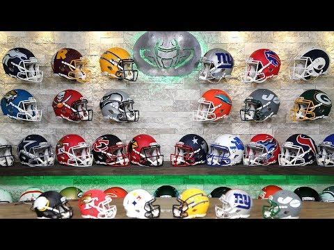 31 NEW NFL TEAM HELMETS!  AMP SERIES