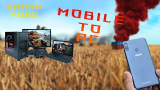 How to copy pubg mobile to pc #greenpolygames Share pubg mobile to PC and save internet data