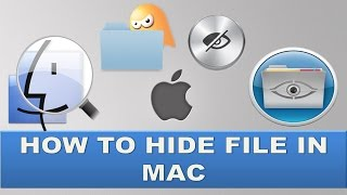 How to hide folders in Macbook Pro?