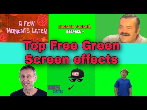 TOP COPYRIGHT FREE GREEN SCREEN TEMPLATES CLIPS IN 2020 FOR VIDEOS | FUNNY GREEN SCREEN VIDEO CLIPS