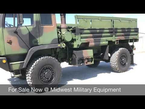 1995 Stewart & Stevenson M1078 Ex Military Cargo Truck Midwest Military Equipment
