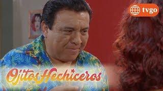 ¡Sabrina le propone un plan a Domingo pero él no acepta! - Ojitos Hechiceros 11/07/2018
