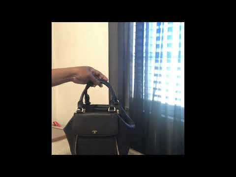 073977008b321 REVIEW of tory burch half moon peace love satchel purse large and ...