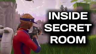 HOW TO GET INSIDE SECRET WATERFALL AT LOOT LAKE (FORTNITE GLITCHES)