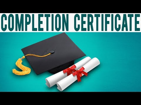 4 Completion Certificate || Collectiva Knowledge Academy - YouTube