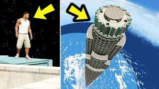 GTA 5 - The TALLEST Tower EVER!! (264,000ft)