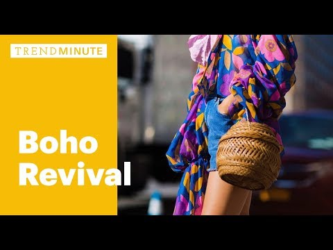 Trend Minute: Boho Revival