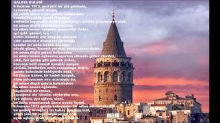 Galata Kulesi Şiiri