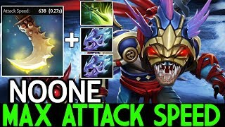 Noone [Slark] Brutal Damage Max Attack Speed Pro Game 7.21 Dota 2