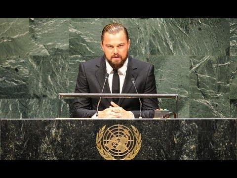 Aktor Tampan Hollywood Leonardo DiCaprio Puji Aksi Menteri Susi Pudjiastuti di PBB