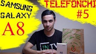 Samsung Galaxy A8 Узбекча ОБЗОР | O'zbekcha OBZOR | TELEFONCHI #5