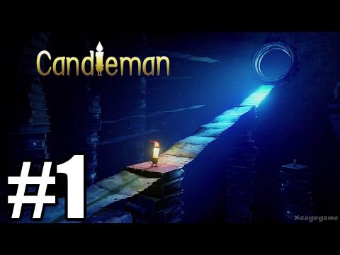 Candleman Gameplay Walkthrough Part 1 - First 35 Minutes - Xbox One