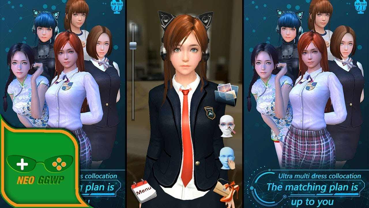 ShowGril (Android/APK) - Casual Virtual Girl Gameplay