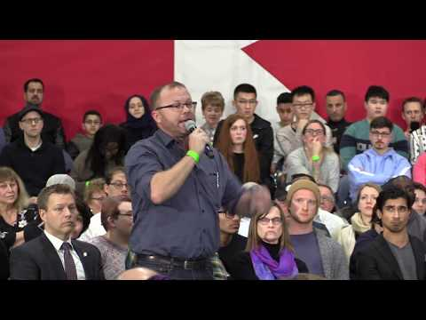 Estevan man questions Trudeau on carbon tax