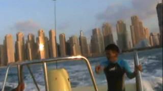 swati parasailing in Dubai Marina.MPG