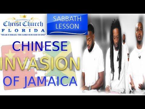 THE CHINESE INVASION OF JAMAICA