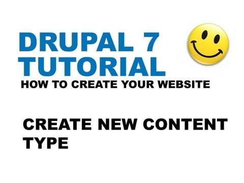Drupal 7 Tutorial - Create New Content Type - How to create your website - YTJunkie.com - Part 6