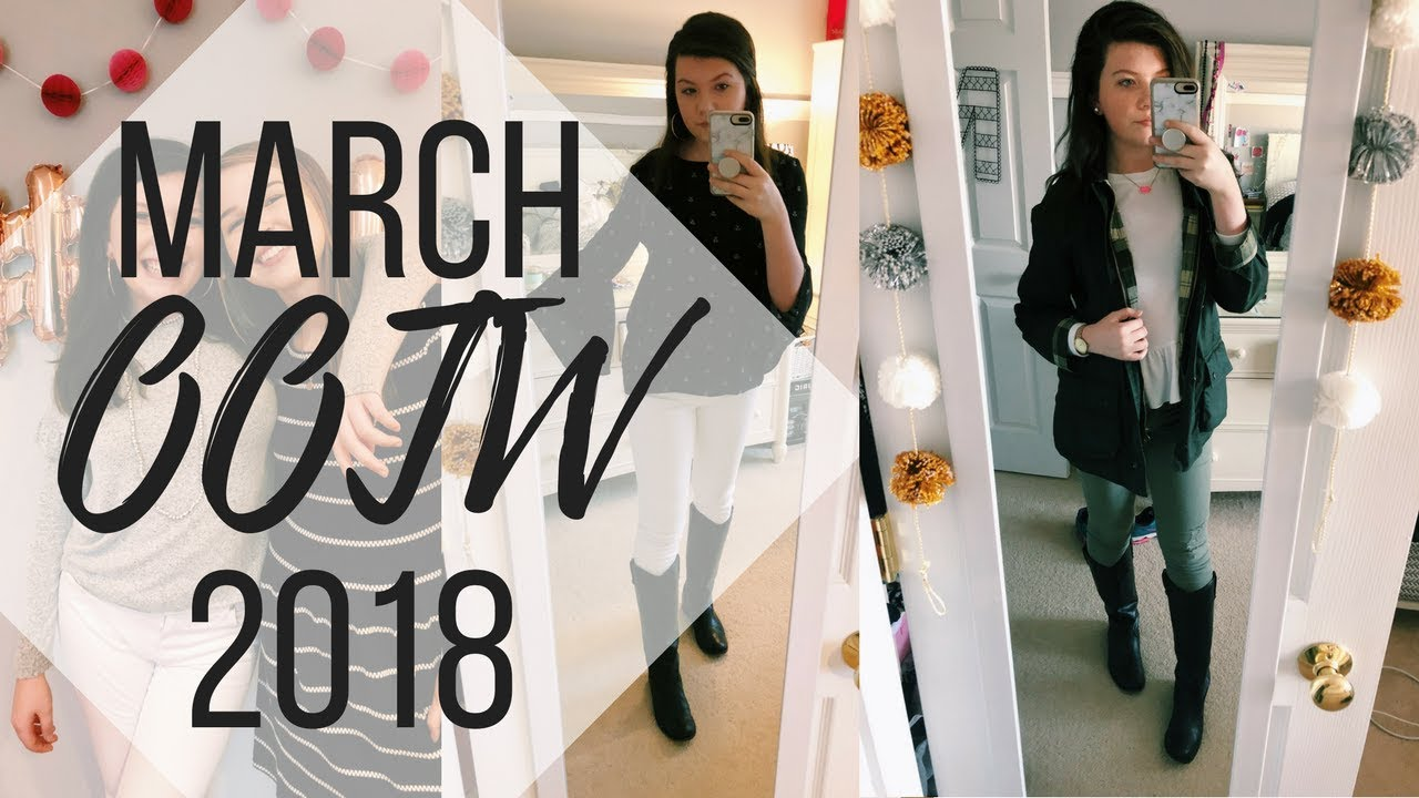 MARCH OOTW | Spring Outfit Ideas 2018 4