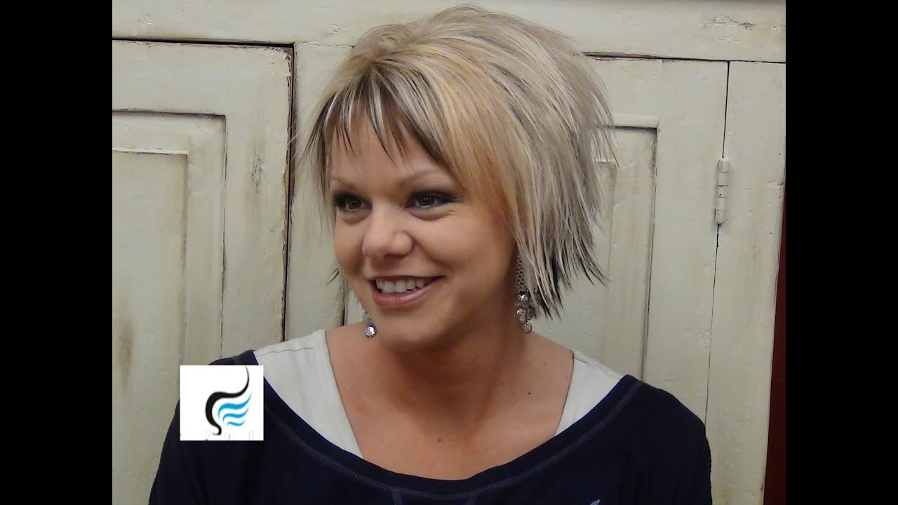 short hairstyles with slight