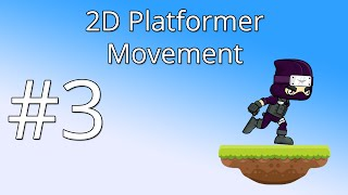 3. Unity 5 tutorial for beginners: 2D Platformer - Movement