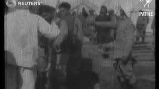Turk volunteers take Oath (1915)