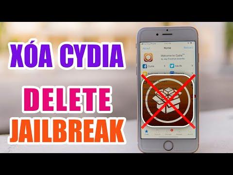 Xóa Cydia - Delete Jailbreak - Dương iPhone