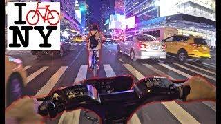 Braving New York City Traffic  ON BIKES! thumbnail