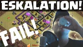 [facecam] FAIL ESKALATION! || CLASH OF CLANS || Let's Play CoC [Deutsch/German HD]