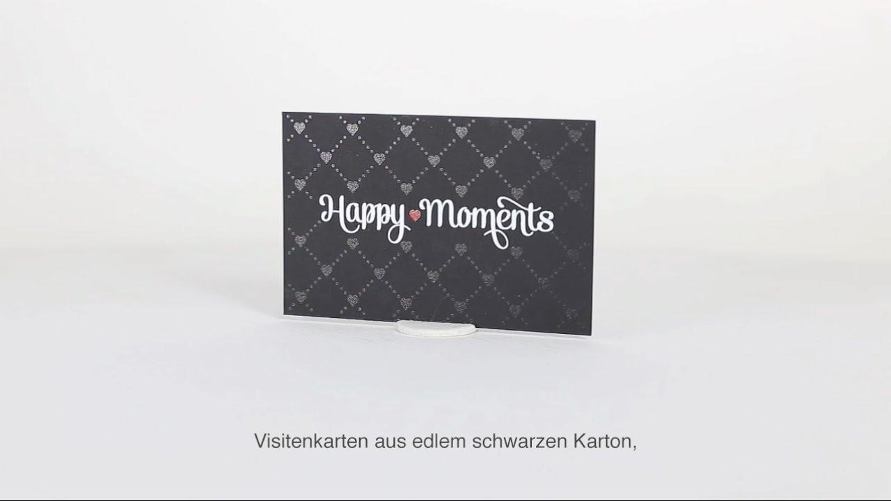 Edle Visitenkarten Von Printweb De