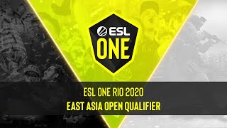 ESL RIO 2020 | Asia Minor | East Asia Open Qualifier #2 | MN