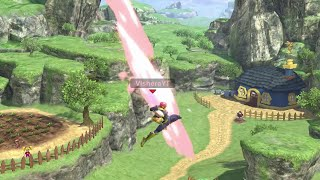Smash Ultimate but with Random Launch Angles