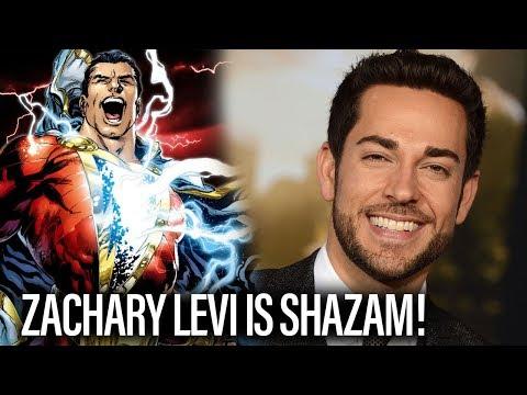 Zachary Levi Is Shazam!