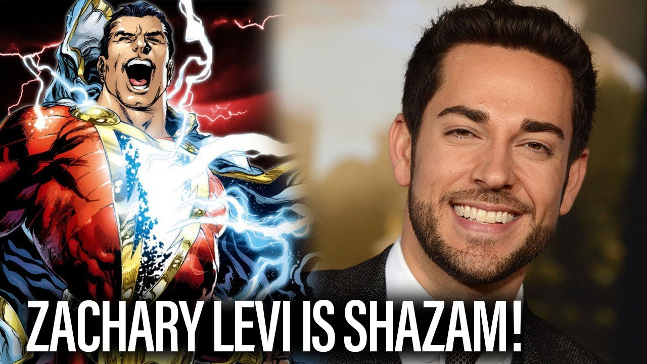 Zachary Levi Is Shazam!