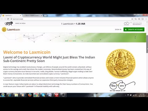 Laxmi cryptocurrency scam Coin Fraud /Scammers's website/ Beware!