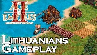 AOE2:DE | Lithuanians Multiplayer Gameplay