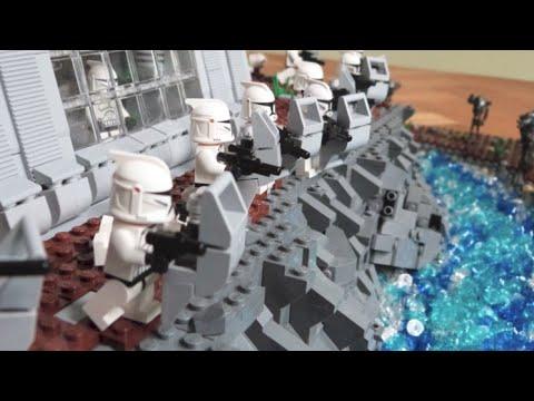 Lego Star Wars Deutsch Clone Base Auf Rodia Moc Youtube