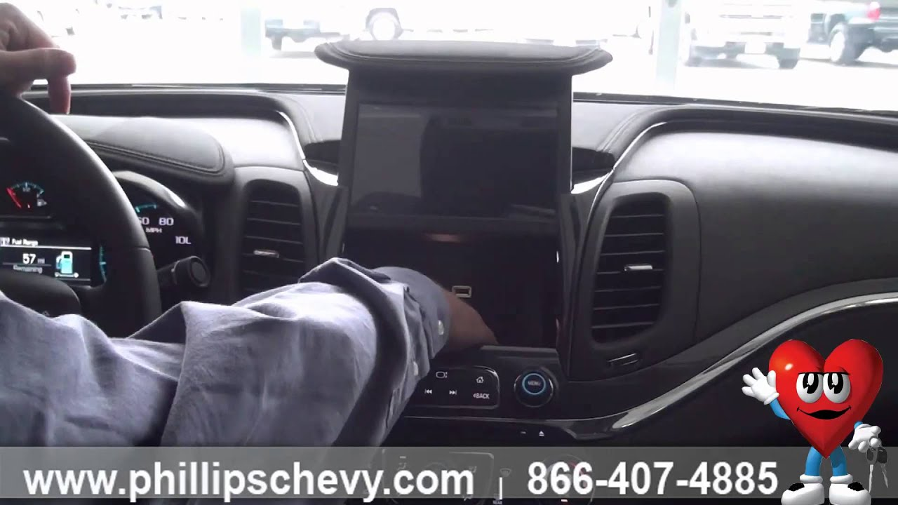 2015 Chevy Impala 2lz Interior Features Phillips Chevrolet Chicago Dealership New Car