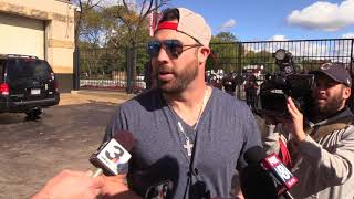 Jason Kipnis gives back to the fans before heading home for the off-season