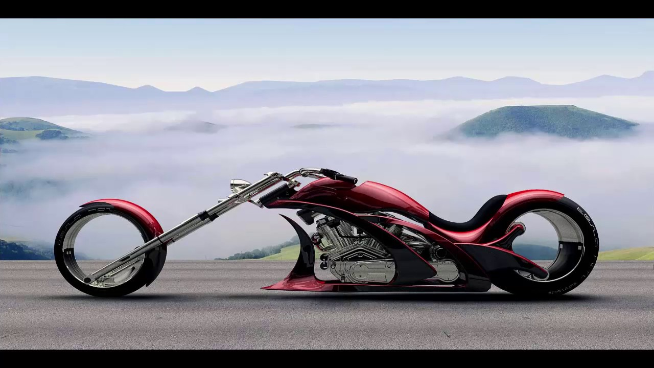 Chopper Motor Bikes Motorized Chopper Bikes Youtube
